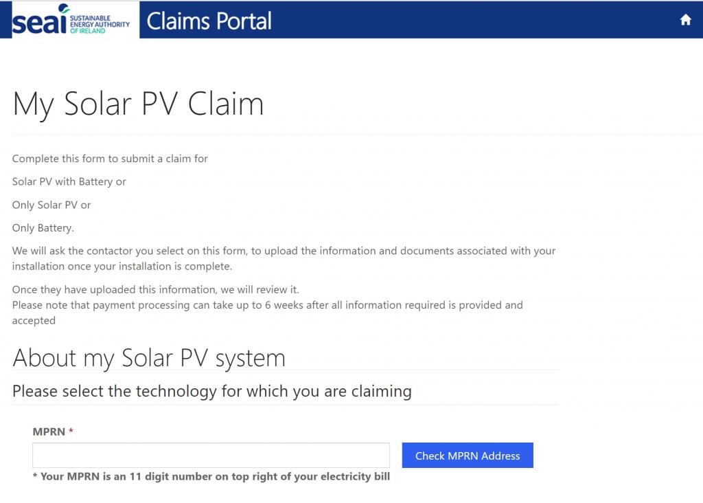 03 SEAI grant MPRN screen
