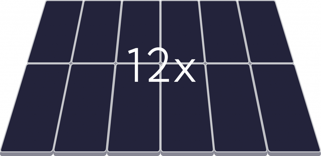 grant solar panels 12x